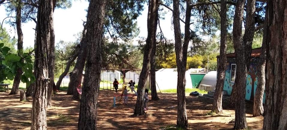 Geflüchtete Kinder im Camp Pipka, wo sie besondere Betreuung und Versorgung erhalten